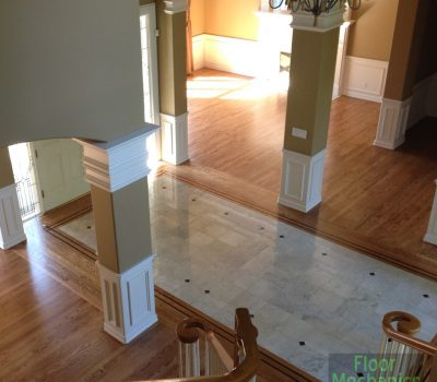 Merging Tile and Hardwoods. No sweat for us!